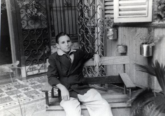 00/00/1940. Santiago de Cuba. En casa de su hermana Lidia Castro Argota.